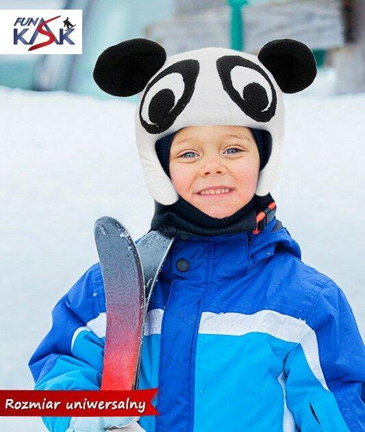 nakładka na kask narciarski polarowa mamidadi