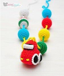 Korale dla mamy i dziecka - Samochodzik