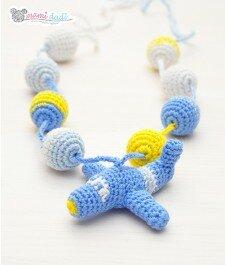 Ręcznie robione korale do karmienia mamidadi