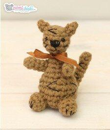 Ręcznie robiony, kot, kotek, mamidadi, hand made, brązowy, wyjątkowy, prezent, dla dziecka, dla dziewczyny, dla chłopaka, śliczny,
