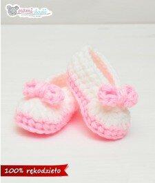 buciki ręcznie robione dla dziewczynki mamidadi